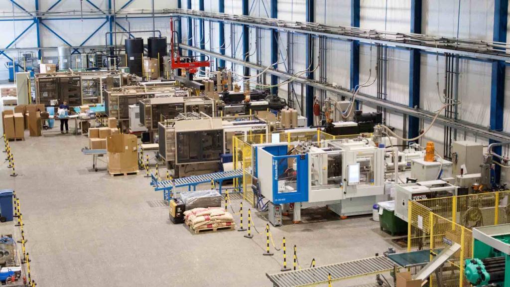 AKF Plastics machinepark Naarden
