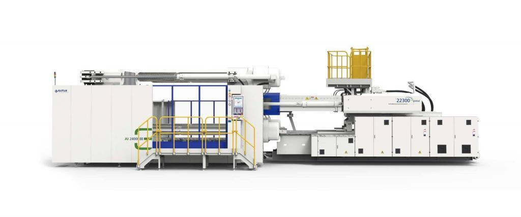AKF plasticsHaitian Jupiter 16000 III injection moulding machine